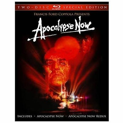 Apocalypse Now (Blu-ray Disc, 2010, 2-Disc Set, Special Edition)New