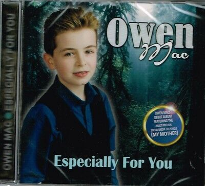"OWEN MAC Brand New CD ""ESPECIALLY FOR YOU""  - IRISH COUNTRY"