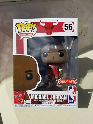 FUNKO POP Michael Jordan Rookie NBA Chicago Bulls  #56 Target Exclusive   (0358)