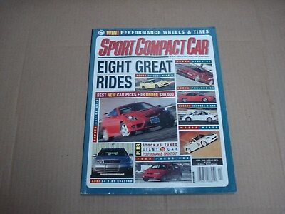 SPORT COMPACT CAR Magazine November 2000 Mustang GT vs