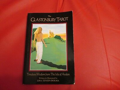THE GLASTONBURY TAROT Book Only... no cards