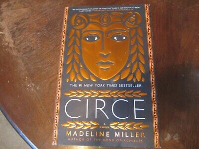 Circe by Madeline Miller (2018, Hardcover) 1st EDITION 5th PRINTING NICE SHAPE!