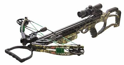 New 2018 PSE Thrive 365 Crossbow Scope Package Mossy Oak Country Model #01302CY