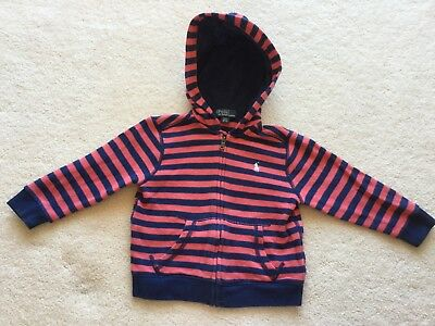 Pre-loved Polo Ralph Lauren Baby Jacket, 100% Cotton, Size 2