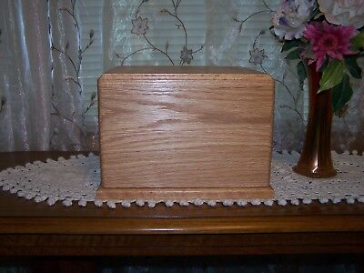 Oak Wood Companion Cremation Urn ADULT  USA