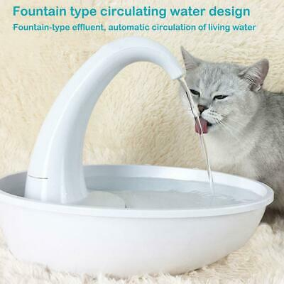 Pet Cat Dog Water Dispenser Puppy Smart Automatic Fountain Drinking Bowl