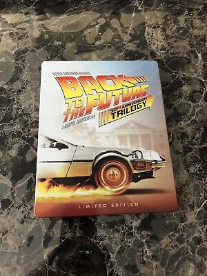 back to the future trilogy steelbook Blu Ray