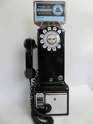 Western Electric 233G  Payphone 3 slot pay phone working