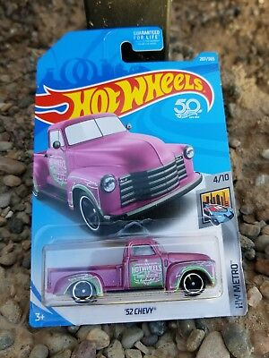 Hot Wheels 2018 Metro '52 Chevy Trucks  Pickup 4x4 Off Road  new