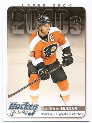 14/15 UPPER DECK SERIES 2 HOCKEY HEROES 2010s Hockey (#HH79-90) U-Pick from List