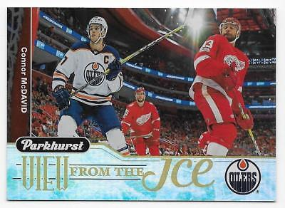 18/19 UPPER DECK PARKHURST VIEW FROM THE ICE Hockey (#VI1-VI18) U-Pick From List