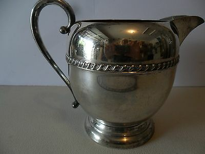 Silver Plated Water Pitcher see makers mark