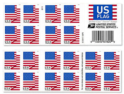 10 for $5.  USPS Forever Postage Stamps. US Flag.  2018 / 2019