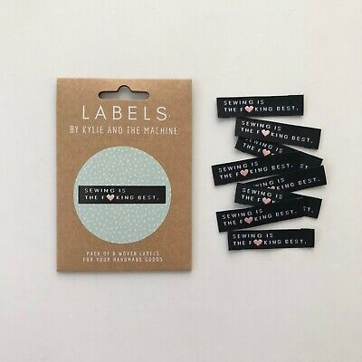 Sewing is the F Best - KatM - sew in woven tags clothing labels FREEPOSTAU