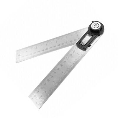Stainless Steel Digital Angle Protractor Goniometer 200mm Ruler Angle Gauge Tool