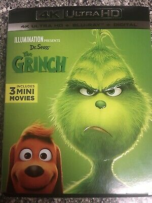 dr. seuss' the grinch 4k / Digital code Used