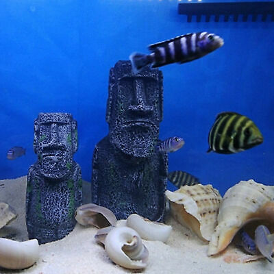 Egyptian statue fish tank aquarium decoration
