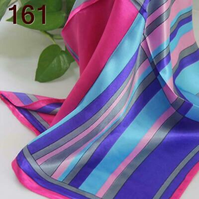 C Elegant 50*50CM Women Office Lady Small square Silky Feel Kerchief Scarf  161