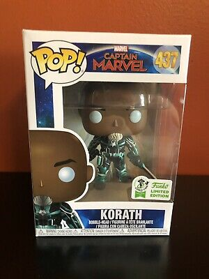 Captain Marvel:  KORATH Funko Pop **Official 2019 ECCC Exclusive** (ON HAND)