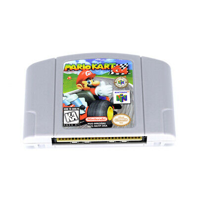 Mario Kart 64 Video Game Cartridge For Nintendo 64 N64 Console US Version
