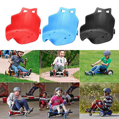 Replacement Plastic Seat for Adjustable Hover Cart Kart Hoverboard 3 Colors