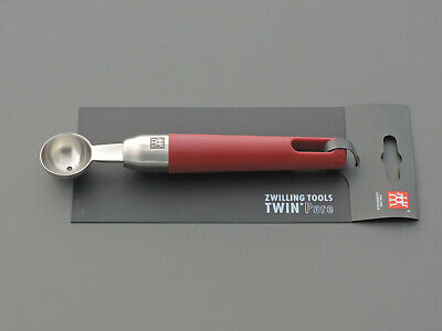 Zwilling J.A.Henckels Tools Twin Pure rot red Kugelformer Scavino Scoop Cuillere