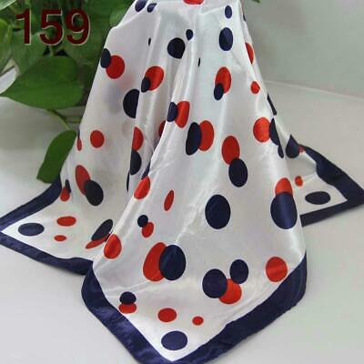 C Elegant 50*50CM Women Office Lady Small square Silky Feel Kerchief Scarf  159