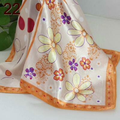 C Elegant 50*50CM Women Office Lady Small square Silky Feel Kerchief Scarf  122