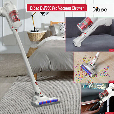 Dibea DW200 Pro 2 in 1 Cordless Handheld Stick Vacuum Cleaner 17000Pa Suction hk