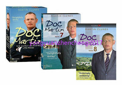 Doc Martin: The Complete Series Season 1-8 DVD BOX SET,FREE SHIPPING,NEW.