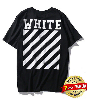 4b4914d00398 2019 New OFF WHITE Graffiti Print Men s Short Sleeve T-Shirt Cotton Unisex  Tee