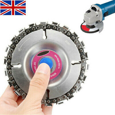 """4"""" Angle  Disc and 22 Tooth Chain Saw  For Wood Cutting Chainsaw"""