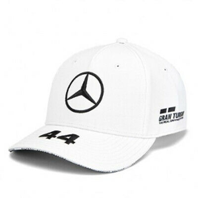 Mercedes AMG Petronas F1 Driver Lewis Hamilton Cap White Official 2019 UK STOCK