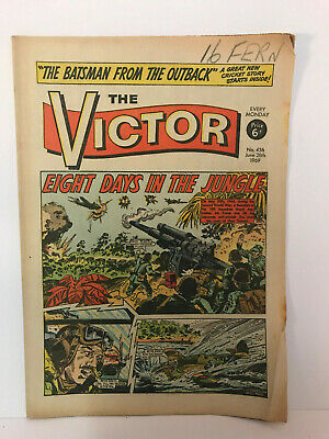 The Victor Comic No.436 June 28th 1969 'Eight Days In The Jungle'