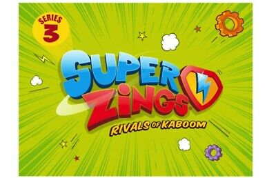 MagicBox Superzings Rivals Of Kaboom Series 3 (inc Silver) - Pick from menu