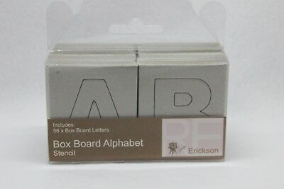 Scrapbook Chipboard Alphabet NEW  STENCIL
