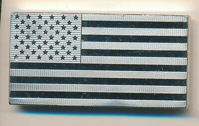 United States: 1974: 925 Sterling Silver INGOT Flag 38.444g - UN Series, SCARCE