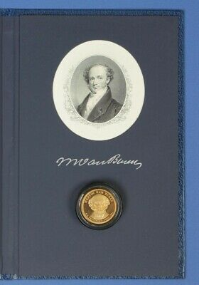 United States 2008 President Martin Van Buren Proof  $1 Historical Signature Set