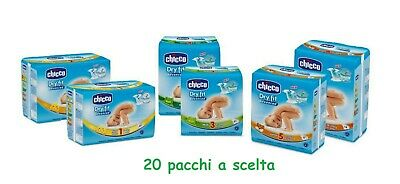 Couches Chicco Dry Fit Advanced 20 Paquets Taille au Choix 2-3-4-5-6 au Choix