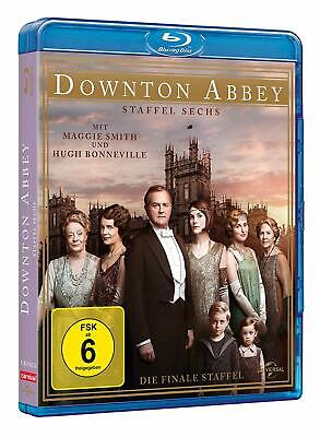 Downton Abbey Completo Temporada 6 Sechs [Blu-Ray] Box Juego Edición +Bonus