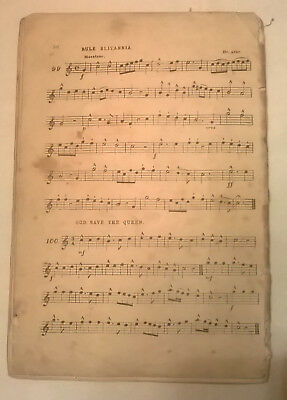 Antique Sheet Music: One Hundred National and Patriotic Melodies - Original 1880