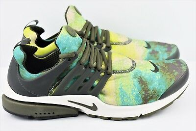 newest 02ce0 dedc8 Nike Air Presto GPX Mens Size 12 Running Shoes Summer Graphic 848188 003  Green