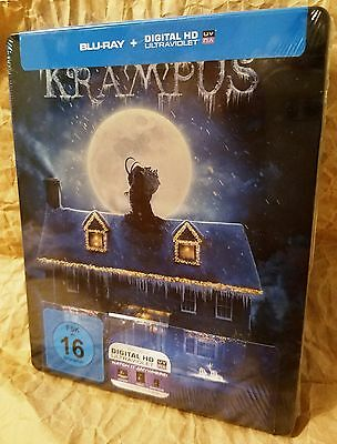 KRAMPUS (2015) Blu-Ray Germany Exclusive Limited Edition STEELBOOK Region Free