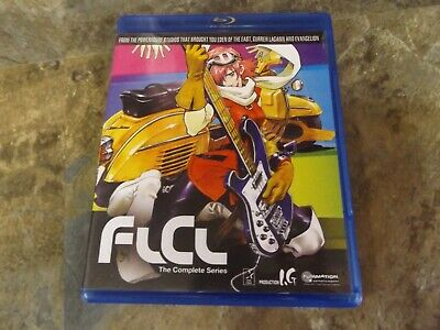 FLCL: The Complete Series (Blu-ray Disc, 2011) Scratch Free - NICE!