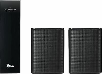 Open-Box Excellent: LG - Powered Wireless Rear Channel Speakers (Pair) - work...