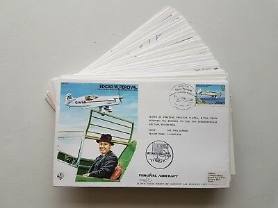 31 x RAF Flown Covers. Test Pilot, TP Series, some signed. See pics below.