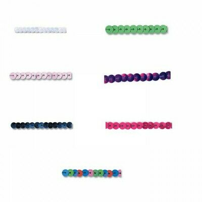 6mm Strung Sequins Flat Round Trimits String Trim Costume Dance