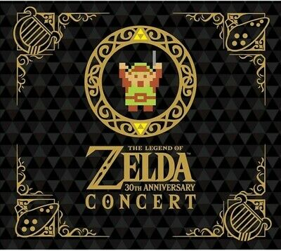 Nintendo The Legend of Zelda 30th Anniversary Concert 2 CD+DVD Limited Edition