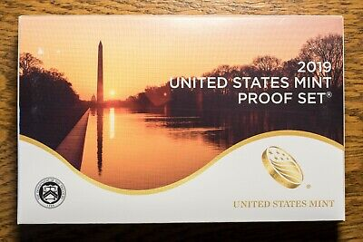 2019-S Proof Set, U.S. Mint 10 Coins In Stock! READY TO SHIP!