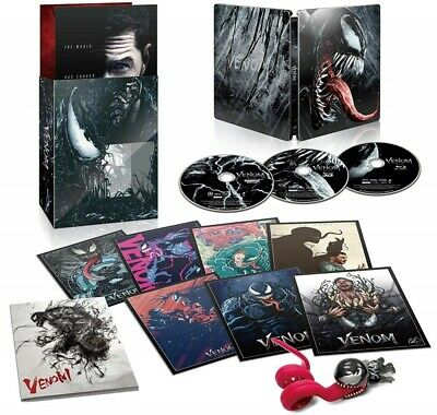 Venom Japan limited premium steel book Edition Limited 4K ULTRA HD